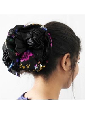 Fashion Fabric Rose Flower Large Hair Clamp