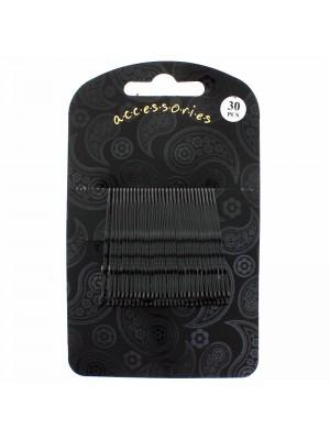 Hair Grip Set - Black (5cm)