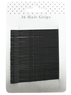 Wholesale Hair Grips - Black (6.5cm)