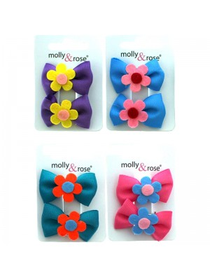 Wholesale Molly & Rose Hair Clips - Assorted Colours