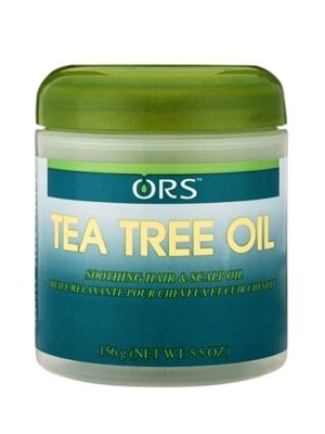 Wholesale ORS Tea Tree Oil Hairdress Soothing Hair & Scalp Oil Jar - (156 g)