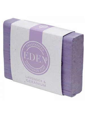 Eden Handmade Soap Bar - Lavender & Geranium