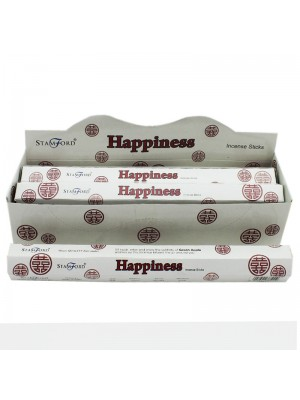 Stamford Hex Incense Sticks - Happiness