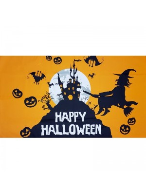 Happy Halloween Flag - 5ft x 3ft