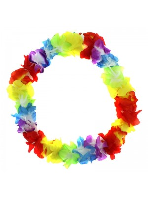 Hawaiian Multicoloured Flower Garlands