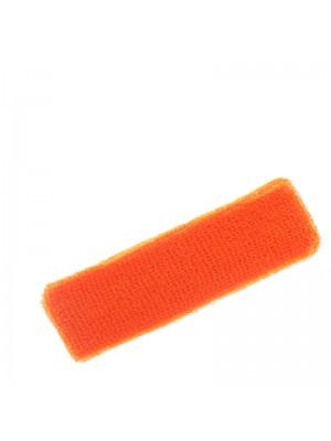 Head Sweatbands- Neon Orange Colour (Narrow 15cm x 5cm)