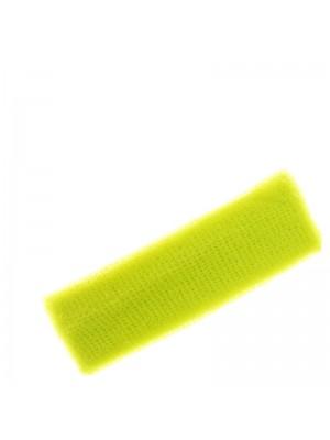 Head Sweatbands- Neon Yellow Colour (Narrow 15cm x 5cm)