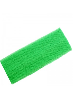 Head Sweatbands Neon Green (Wide 20cm x 7cm)