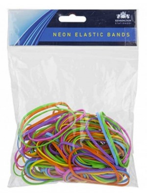 Wholesale Heavy Duty Elastic Bands Bright Neon Assortment