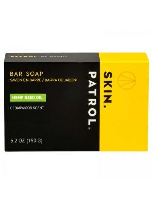 Skin Patrol Mens Bar Soap - Hemp Seed Oil