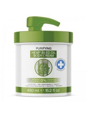 Skin Oil From Africa Purifying Hemp Seed Oil Body Cream-450 ml