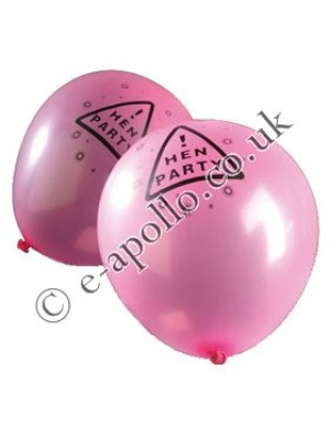 Hen Night Party Balloons