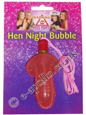 Hen Night Willy Bubble with Cord