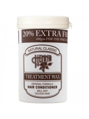 Wholesale Natural Classic Henna Treatment Wax/Hair Conditioner - (480 g)