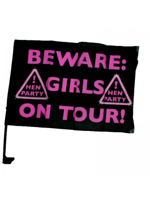 Hen Night Car Flag