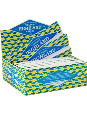Highland Double Decadence Paper & Smoking Tips