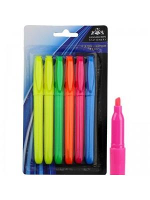 Wholesale Highlighter Pen Set - Assorted Colours