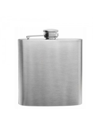 Hip Flask Stainless Steel 6OZ
