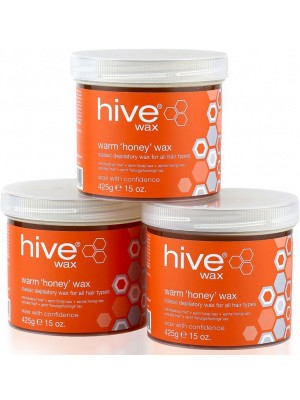 Hive of Beauty - Warm Honey Wax (3 For 2)