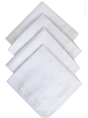 Wholesale Nutex Brand Men's Polyester Cotton Handkerchiefs-36cm x 36cm