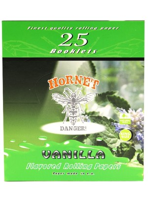 Wholesale Hornet Flavoured King Size Rolling Papers - Vanilla