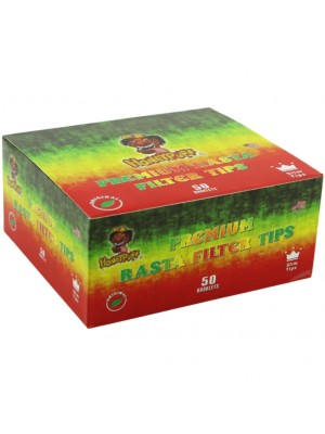 Wholesale HoneyPuff Premium Rasta Slim Filter Tips