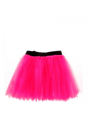 Hot Neon Pink Tutus Skirt  One Size