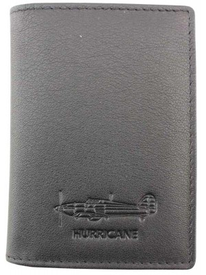 Wholesale Men's Military Heritage Leather Card Wallet - Hurricane