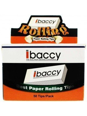 Wholesale ibaccy 50 Pound Paper Rolling Tips - 50 Tips