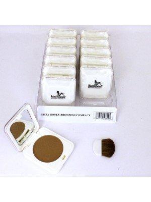 Ibiza Honey Bronzing Compact Powder- Dark