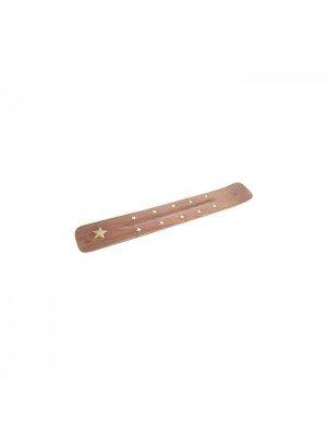 Wholesale Sheesham Wooden Ash catcher Brass Star Inlay