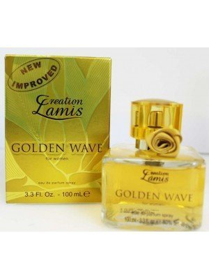 Wholesale Creation Lamis Perfume For Ladies 100ml- Golden Wave