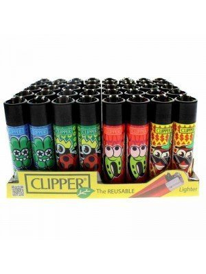 Clipper Reusable Lighter - Fortuna (Assorted Designs)