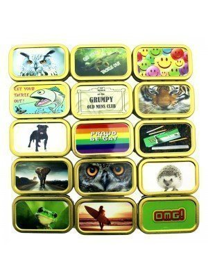 Wholesale Tobacco Tins With Rubber Seal - 1oz