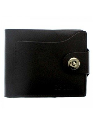 Mens Sport Leather Wallet with 4 Card Slots - Brown