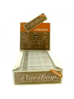 Pure Hemp Rolling Paper - 25 Booklets (1 1/4)