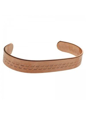 Copper 13mm Rope Bangle - Large