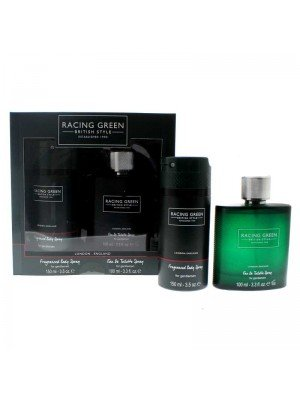 Racing Green British Style Perfumes - Men's Gift Set