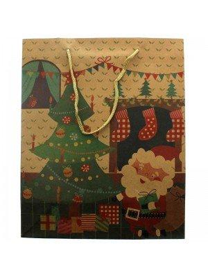 Christmas Scene Gift Bag