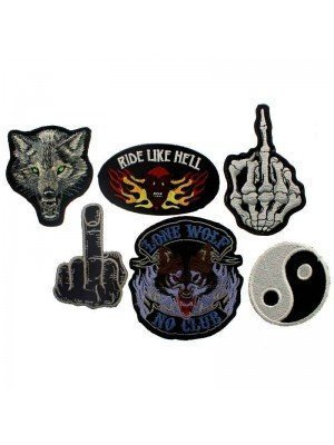 Wholesale Iron-On Patches - Assorted Designs