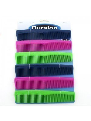 Duralon Coloured Dress Comb - Assorted