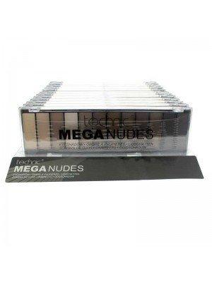 Technic Mega Nudes Eyeshadow Palette - 18g