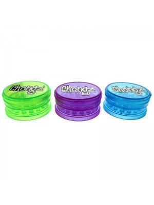 Chongz 3-Part Tobacco Grinder - Assorted Colours