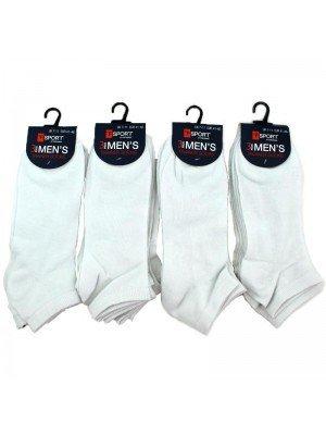 Wholesale Men's Trainer Socks T-Sport - White Socks (7-11 UK)