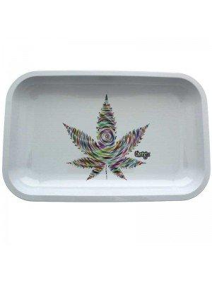 Chongz Leaf Design Rolling Tray - 27.5 x 17.5 cm