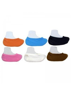 Wholesale Ladies Magic Sock Footsies - Assorted Colours