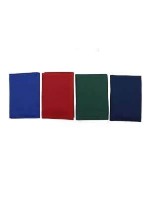 Wholesale Solid Colour Velcro Wallets - Assorted Colours