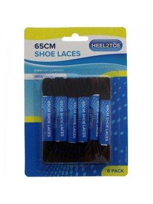 65cm Shoe Laces - Assorted Colours