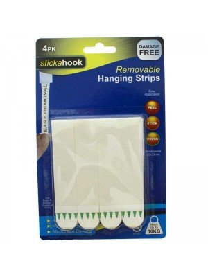 stickahook Self Adhesive Removable Hanging Strips