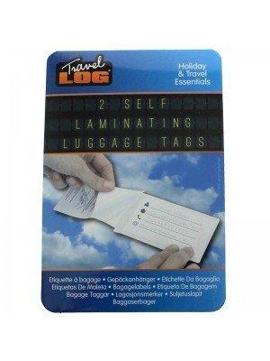 Self Laminating Luggage Tags